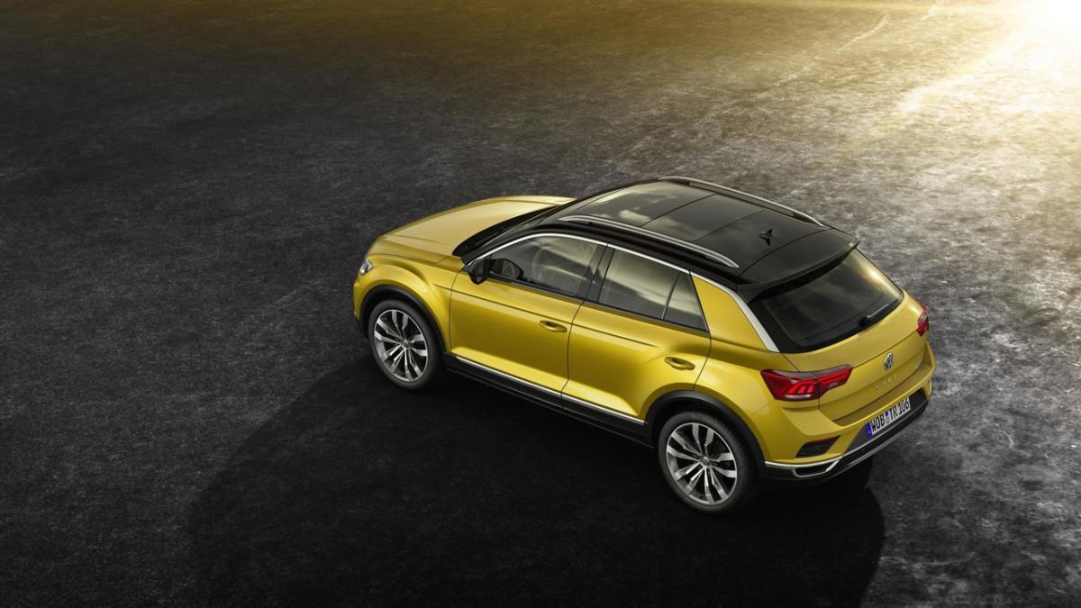 Кроссовер Volkswagen T-Roc 2018 официально представлен