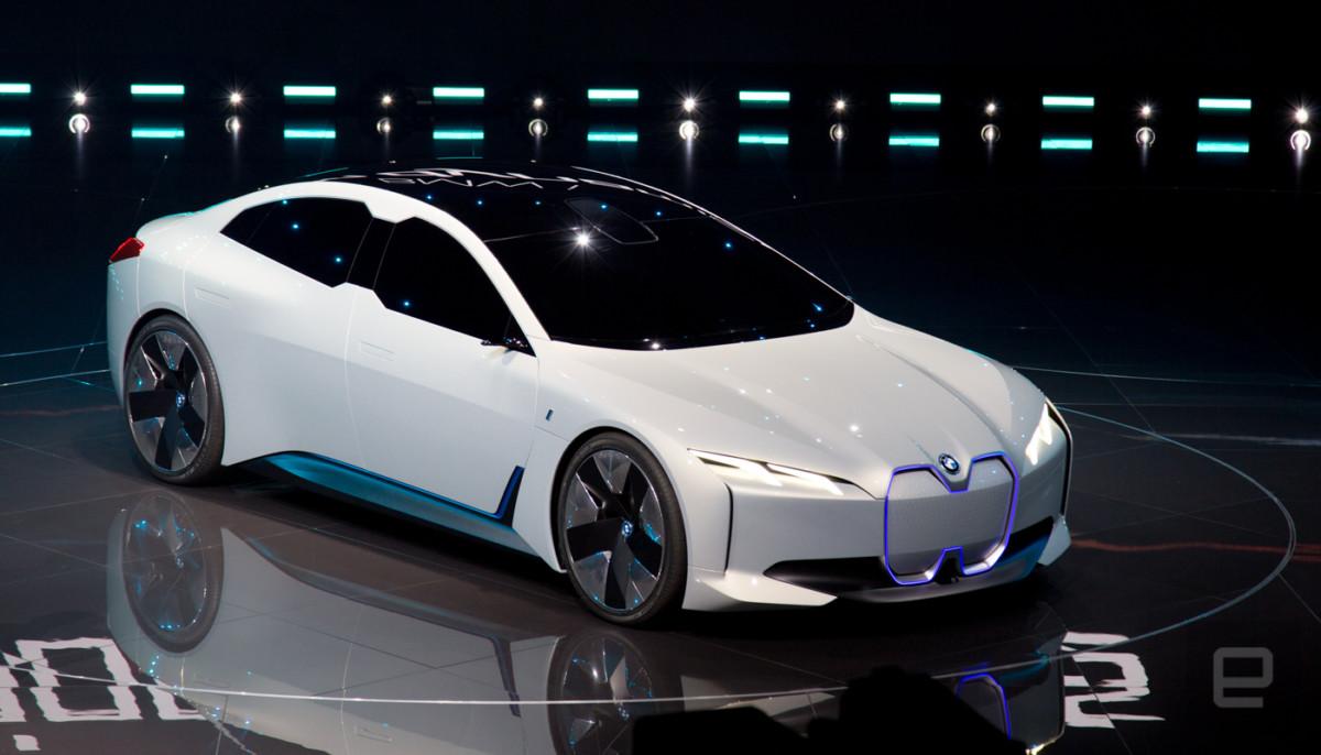 BMW представила во Франфурте конкурента Tesla Model S