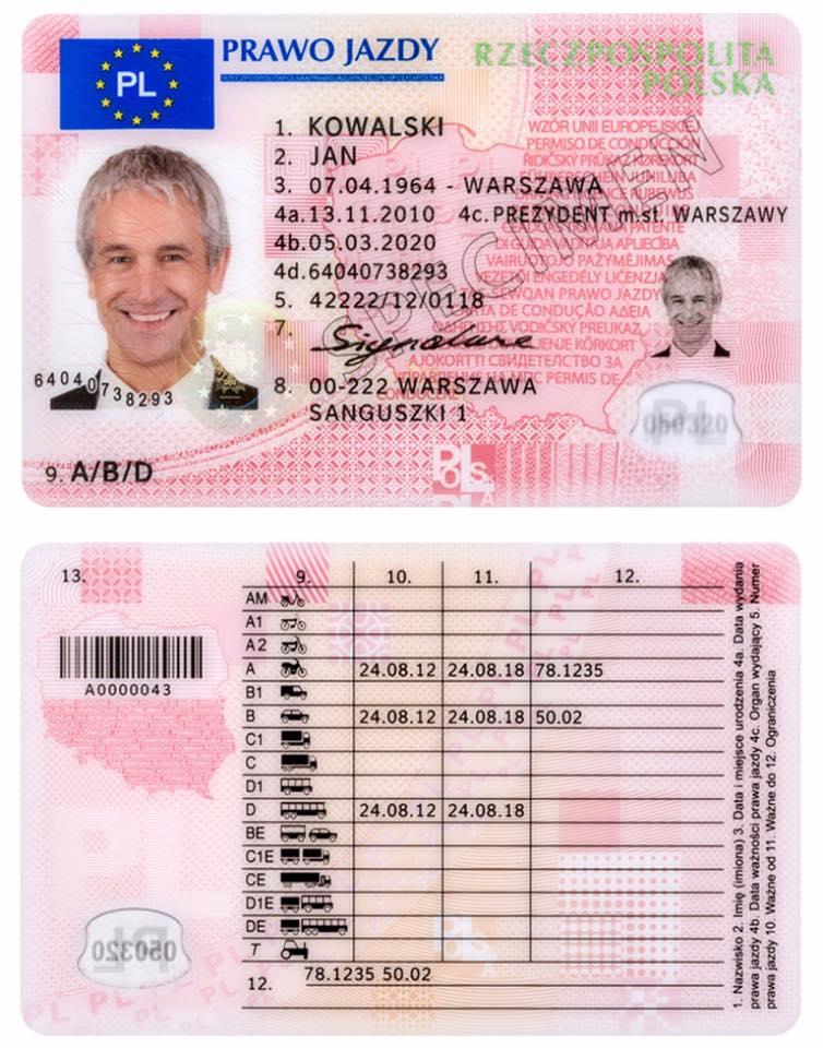 Зачем поляки получают водительские права в Украине