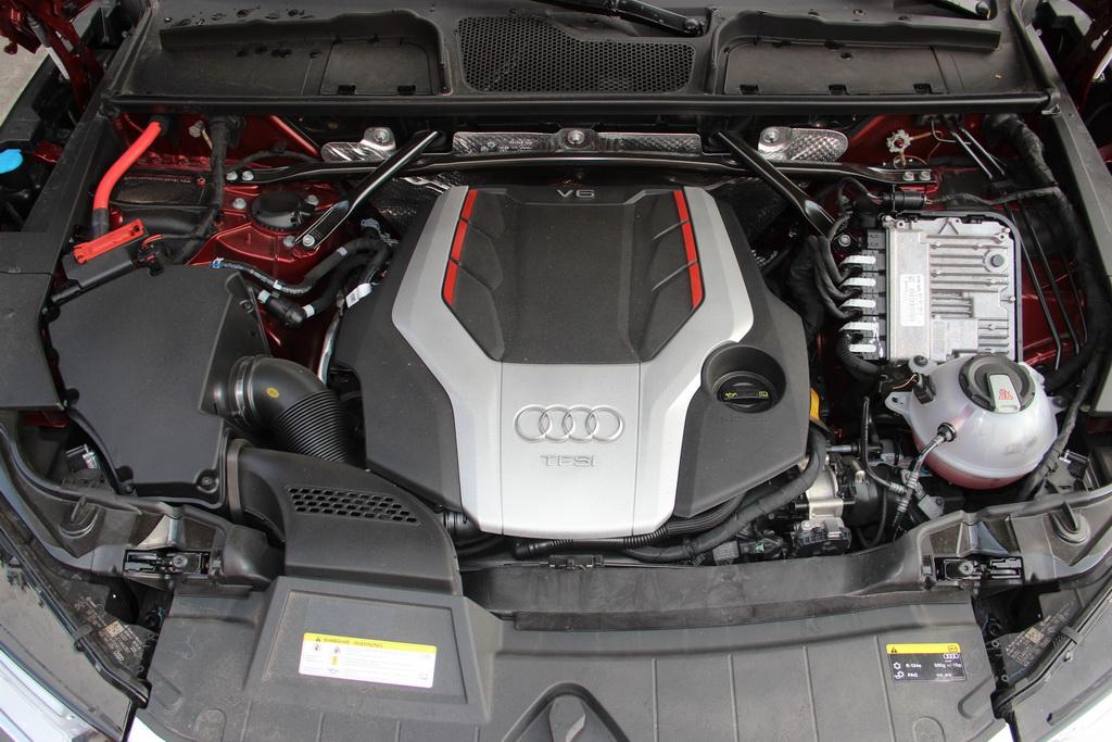 Мотор Audi SQ5 2017
