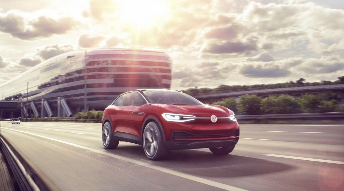 Электрокроссовер Volkswagen доработали к Франкфуртскому автосалону