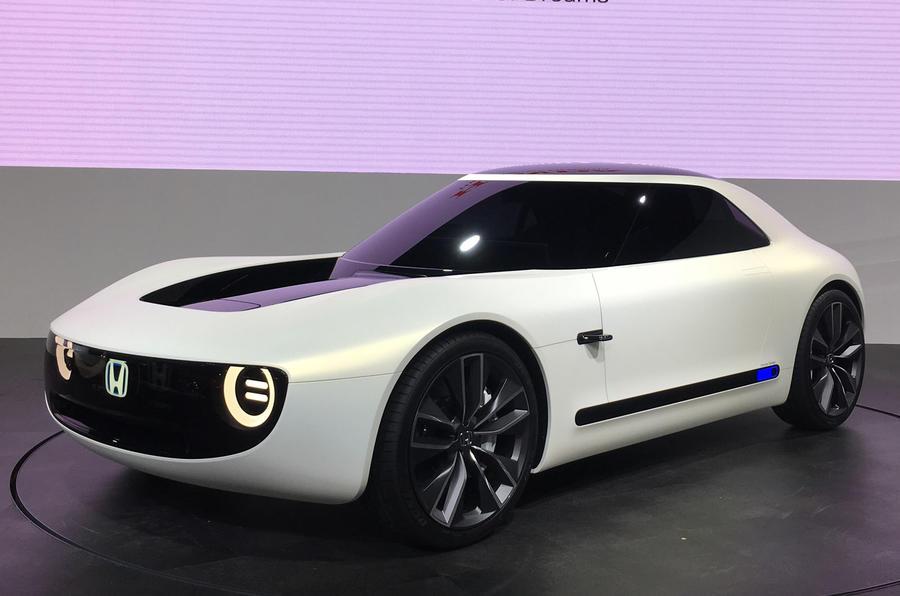 На Токийском автошоу показали электрическое купе Honda