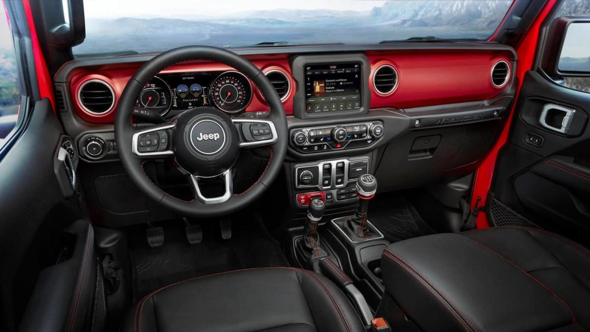 Новый Jeep Wrangler 2018 полностью рассекречен