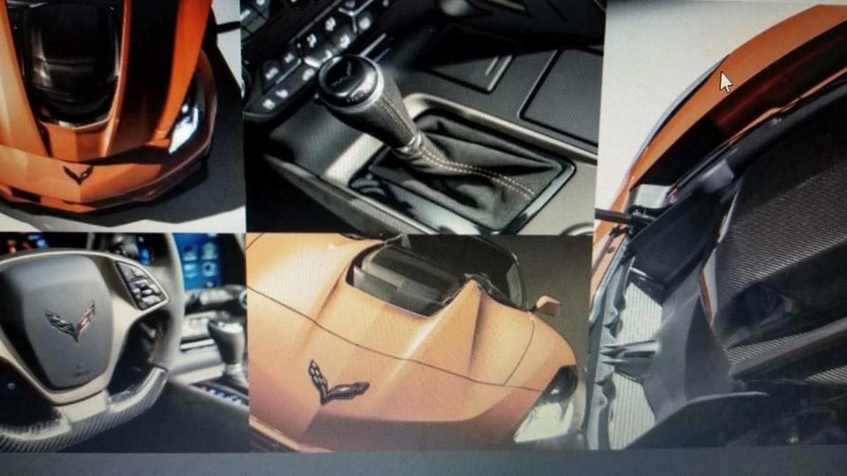 Первые фото самого экстремального Chevrolet Corvette