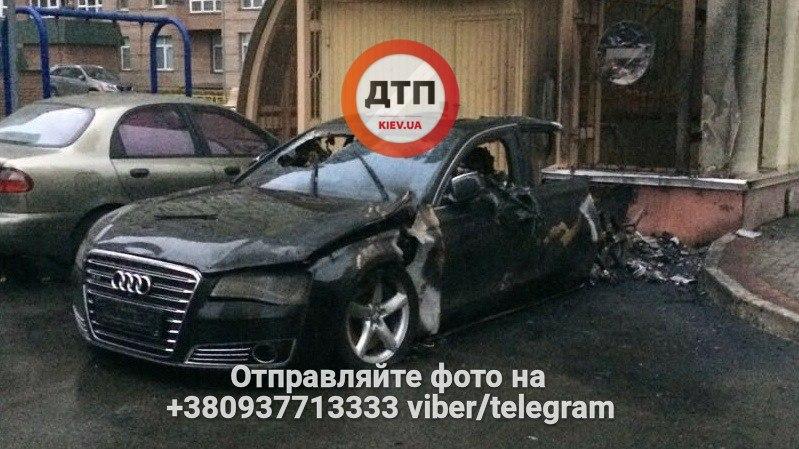 Новые подробности взрыва авто в Киеве