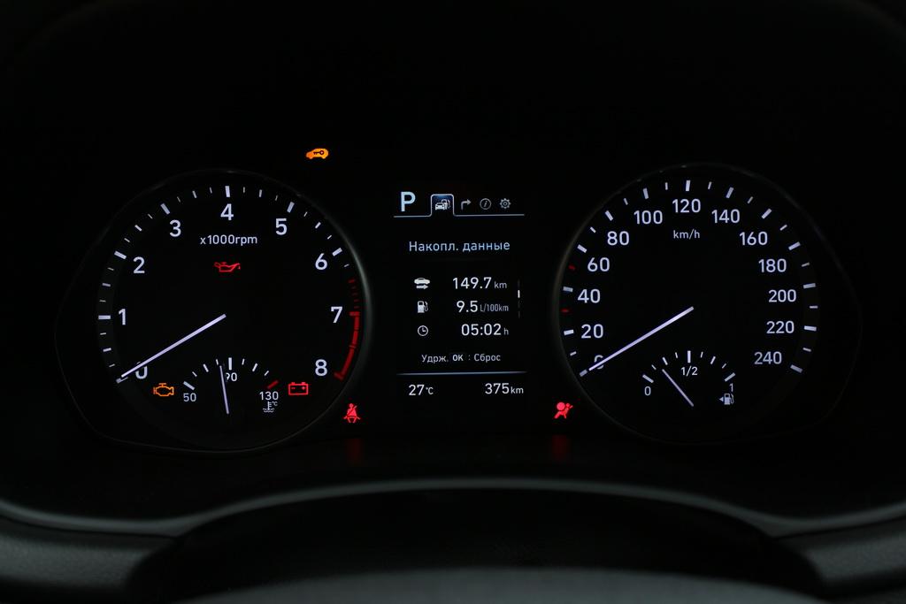 Приборы Hyundai i30 2017