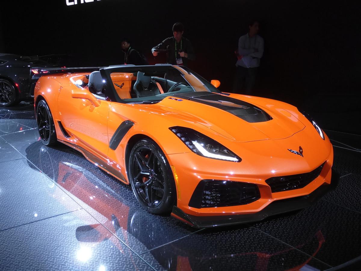 В США показали самый быстрый Chevrolet Corvette в истории