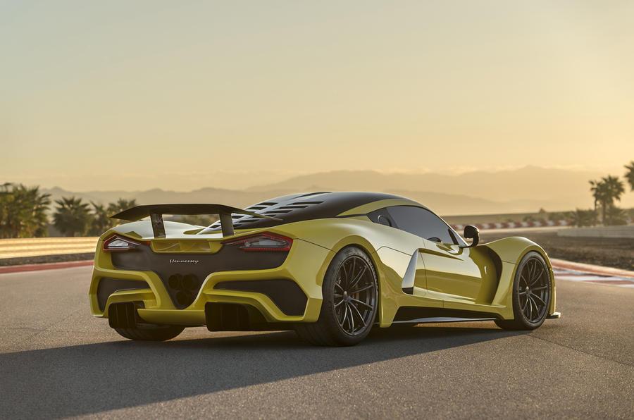 Самый быстрый авто в мире Hennessey Venom F5 официально представлен