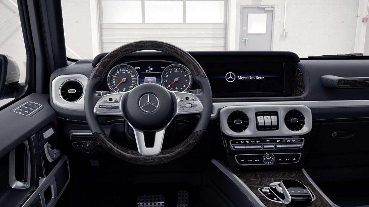 Новый Mercedes-Benz G-Class 2019 впервые показали на видео