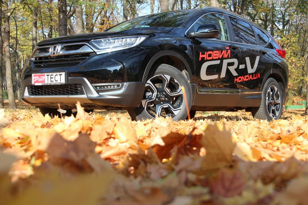 Внешность Honda CR-V 2017