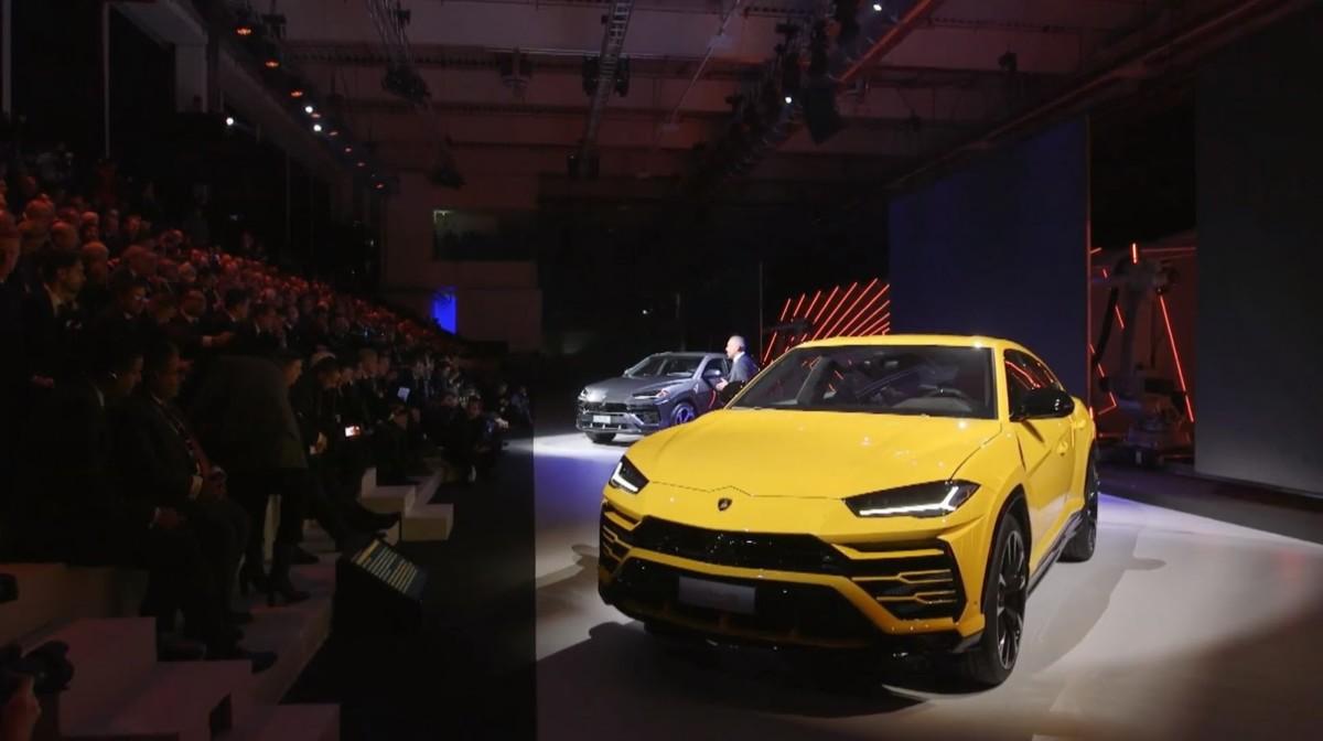 Живые фото и все подробности кроссовера Lamborghini Urus 2018