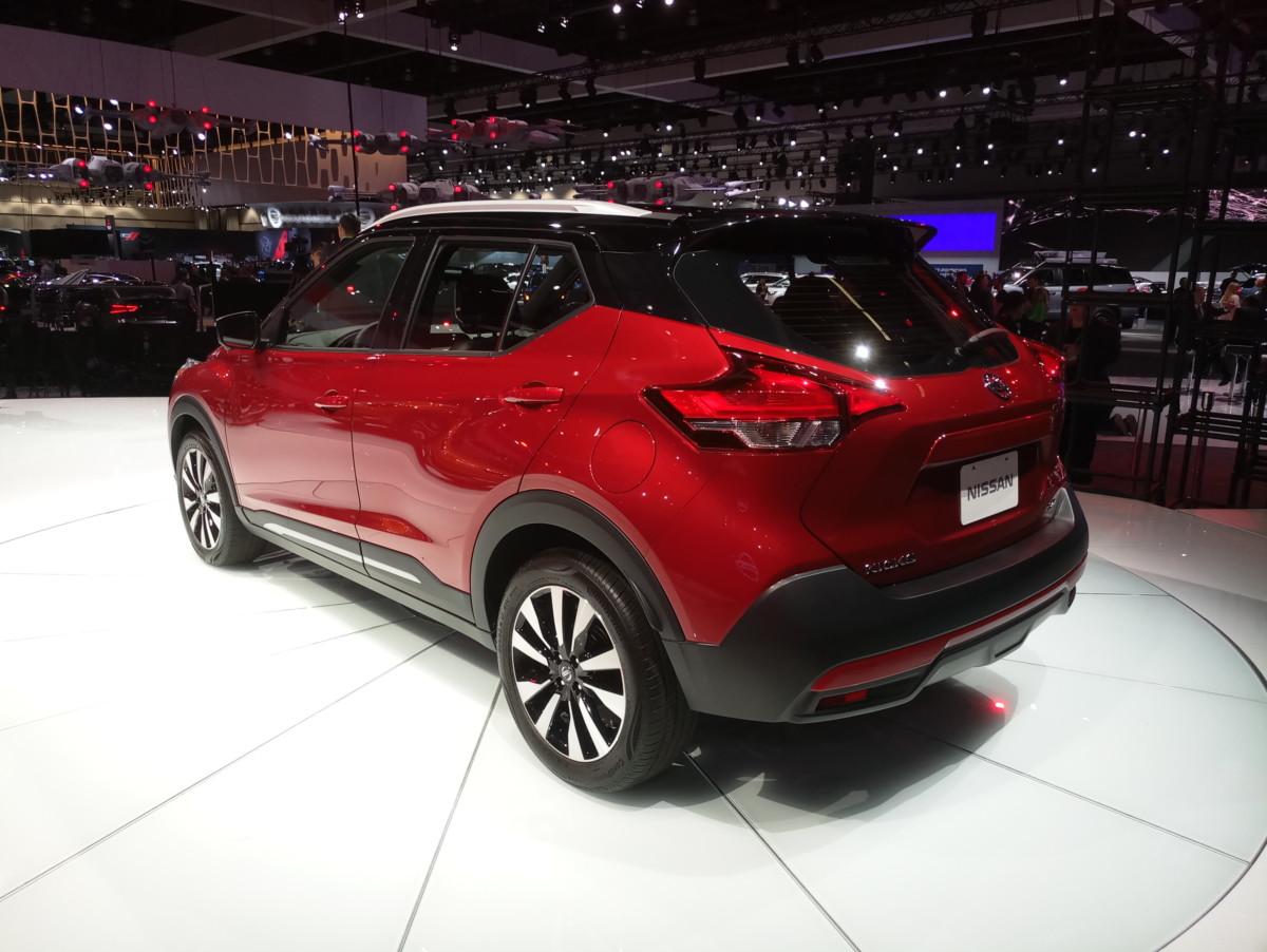 Автошоу в Лос-Анджелесе: эксклюзивные живые фото преемника Nissan Juke