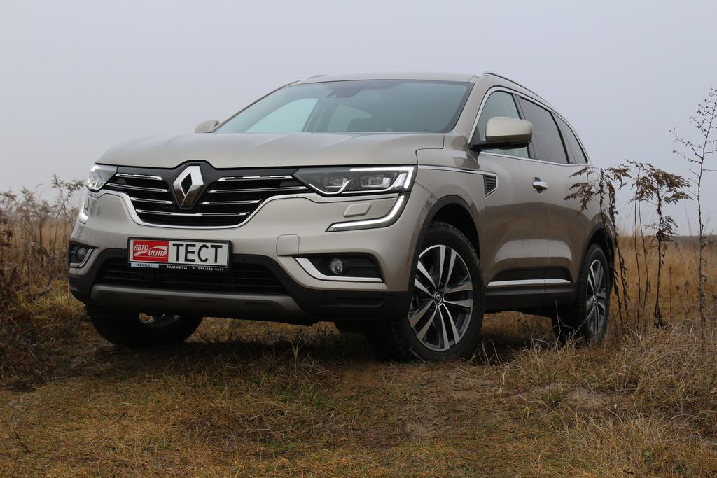 Внешность Renault Koleos 2017
