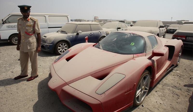 Самые дорогие заброшенные автомобили