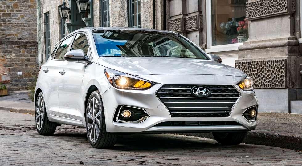 Первые официальные фото хетчбэка Hyundai Accent 2018