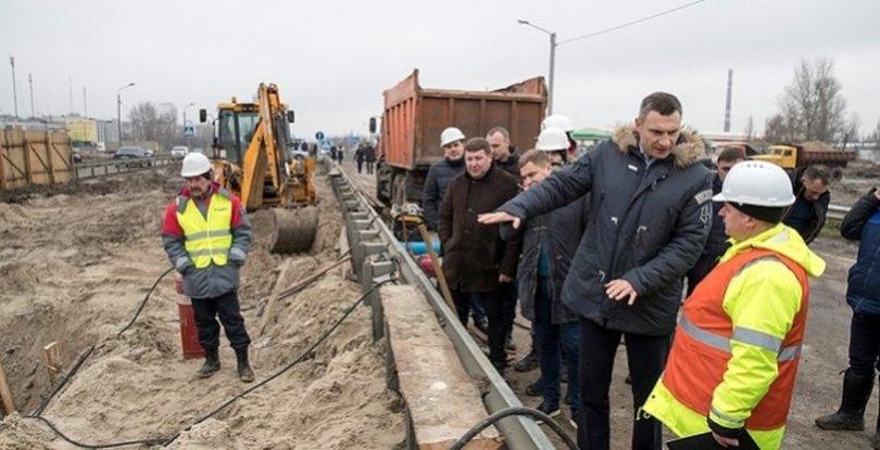 Участок Большой Окружной в Киеве достроят через год