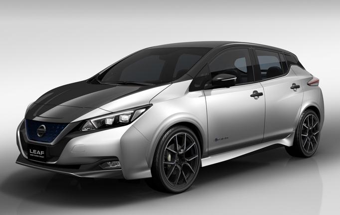 Первые фото «горячего» Nissan Leaf GT