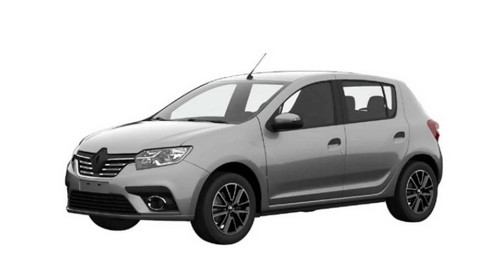 Первые фото обновленного Renault Sandero 2018