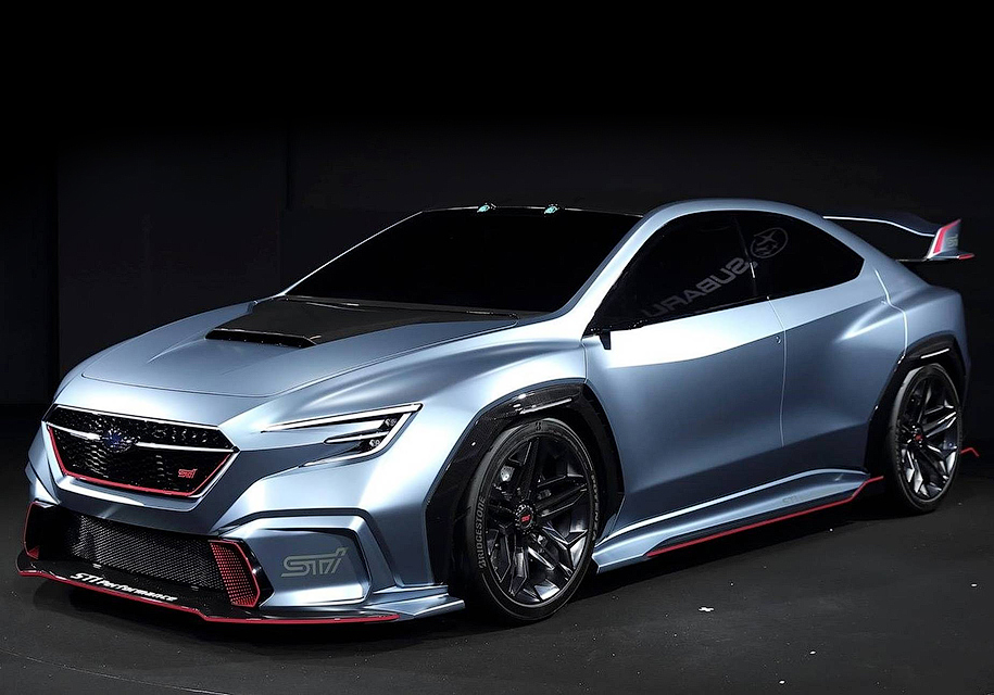 Концепт новой Subaru STI представлен в Токио