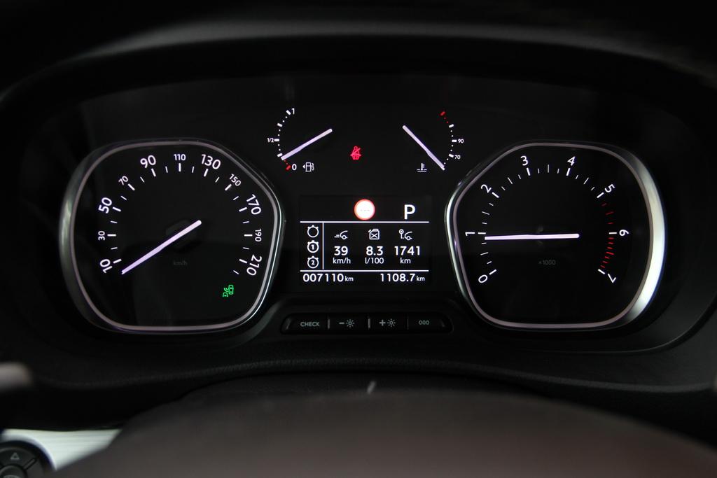 Расход топлива Peugeot Traveller