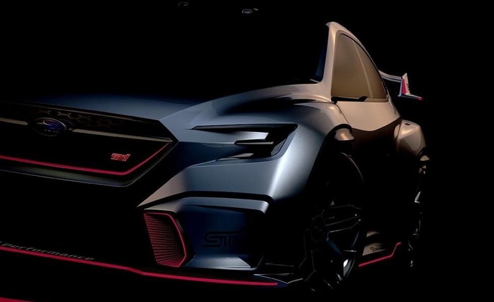 В Детройте покажут концепт новой Subaru STI