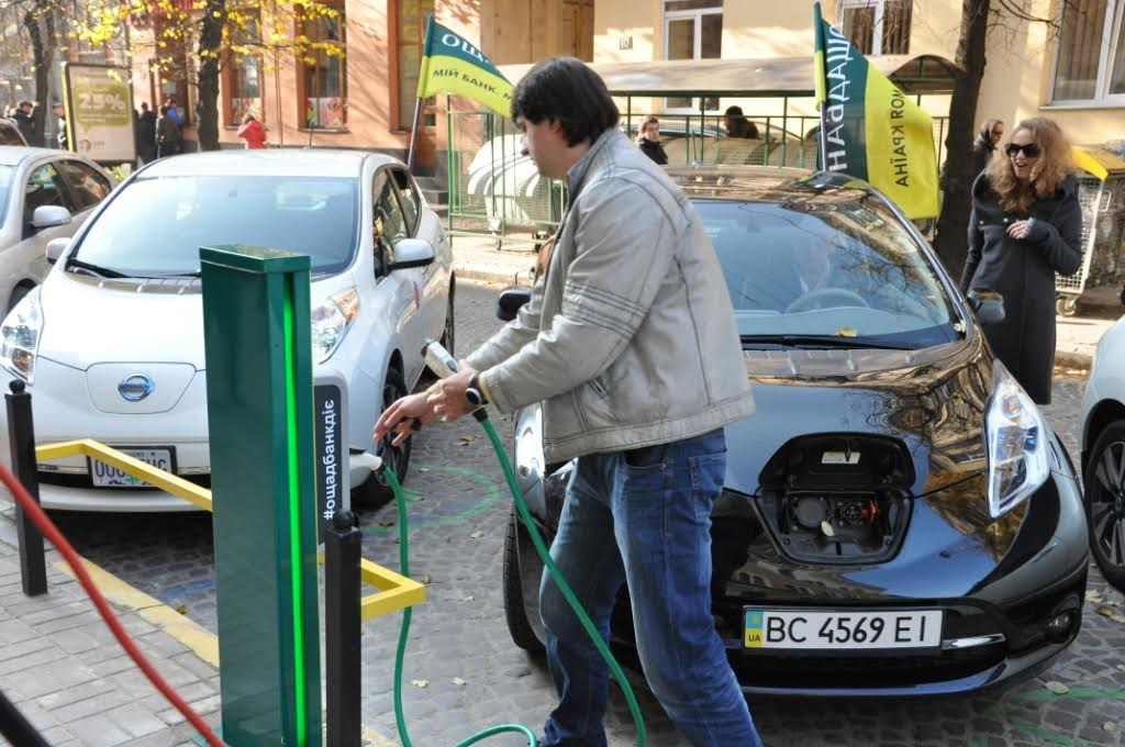К 2025 году 20% авто Львова будут электромобилями
