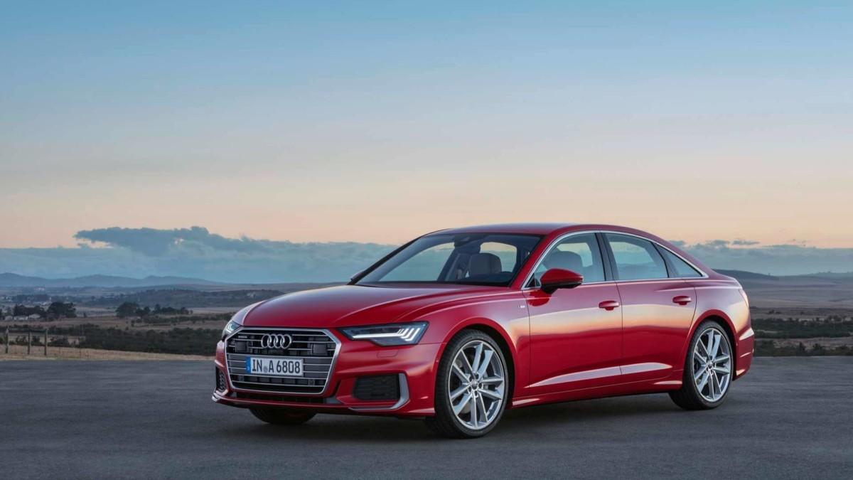 Официальные фото и все подробности Audi A6 2019