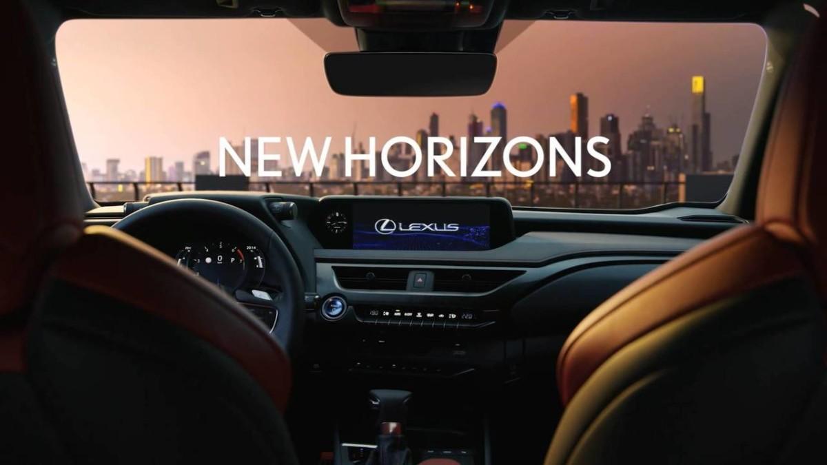 Самый маленький кроссовер Lexus рассекречен на официальных фото и видео