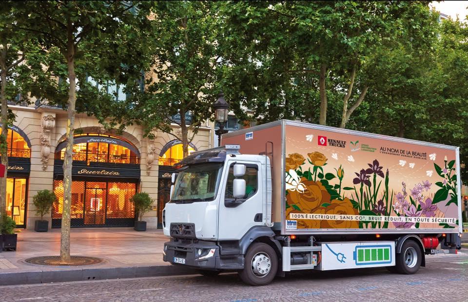 Renault Trucks начнет продажи новых электрических грузовиков уже в 2019 году