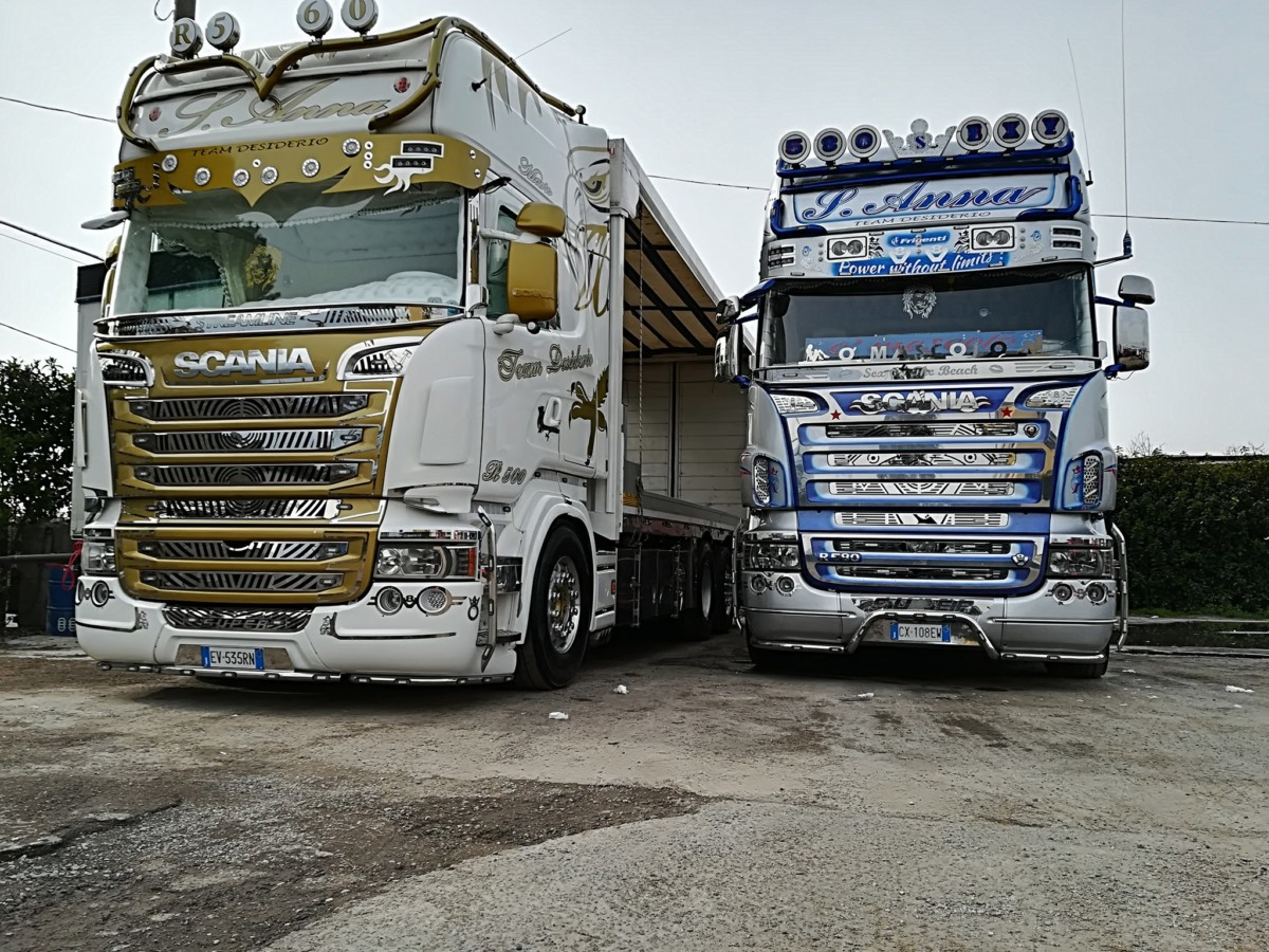 Эксклюзивные грузовики Anna Team Desiderio