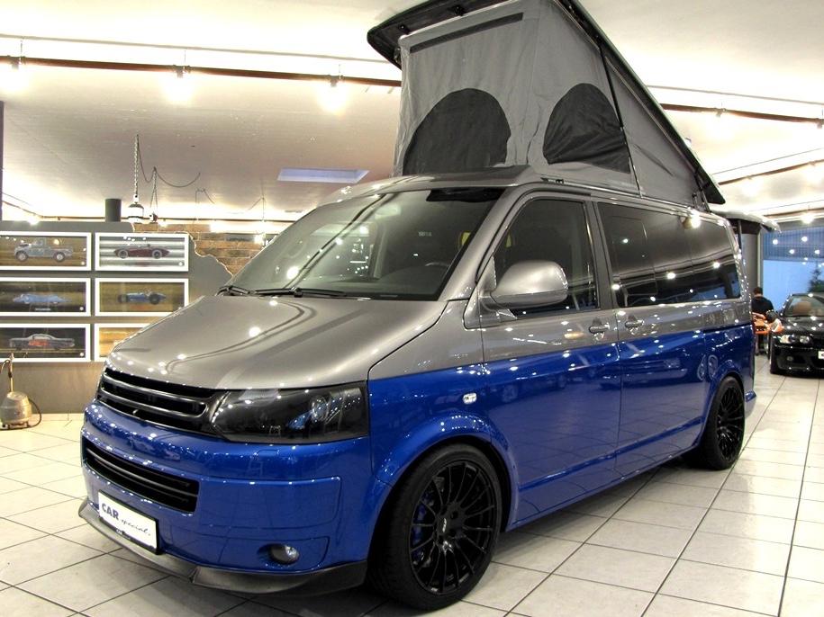 Самый быстрый в мире кемпер Volkswagen SpaceCamper TH5