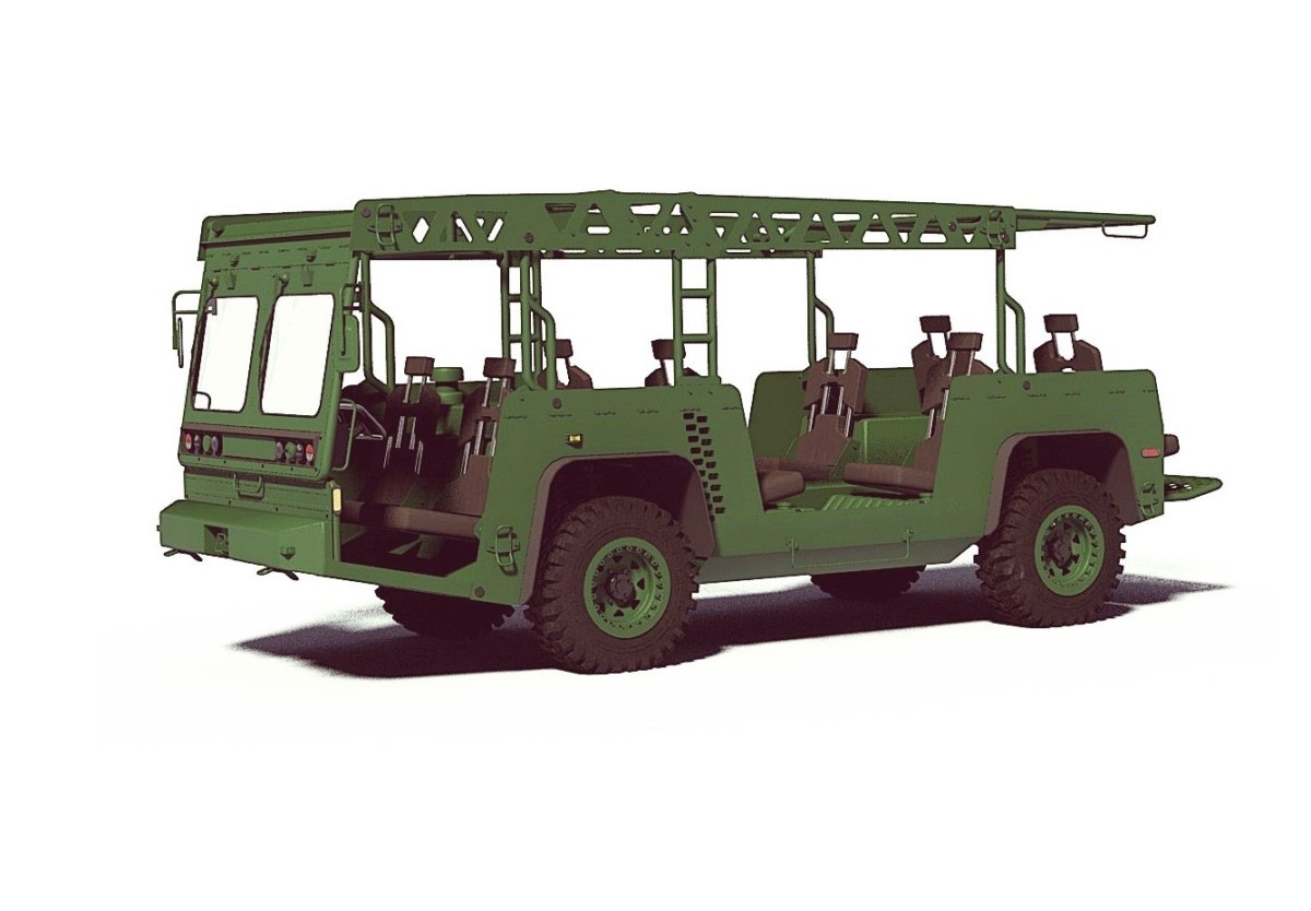 Modular Logistics Vehicle