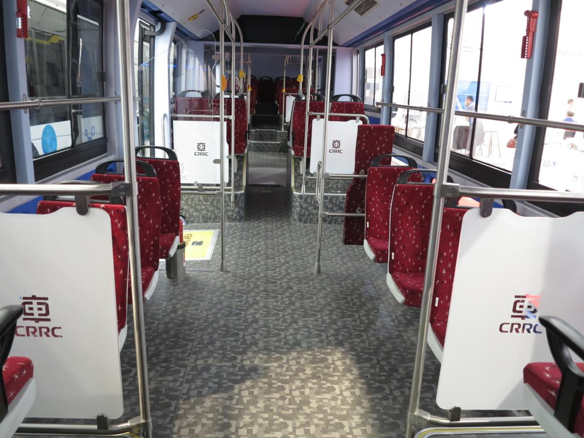 Электробус TEG6180BEV