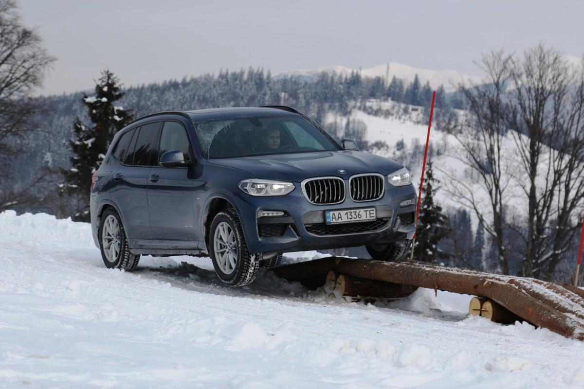 Новый BMW X3 продемонстрировал внедорожные способностив Карпатах