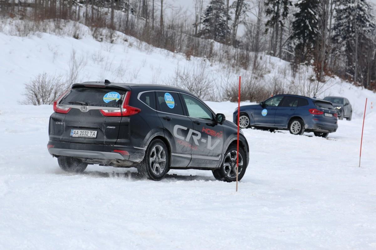 Как проявляет себя новая Honda CR-V на бездорожье