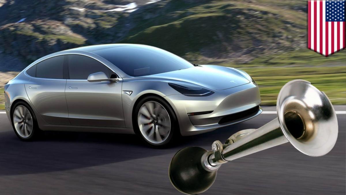 гибридные и электрические авто в США должны издавать звуки