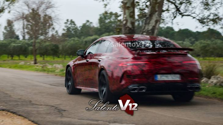 Рассекречен конкурент Porsche Panamera от Mercedes