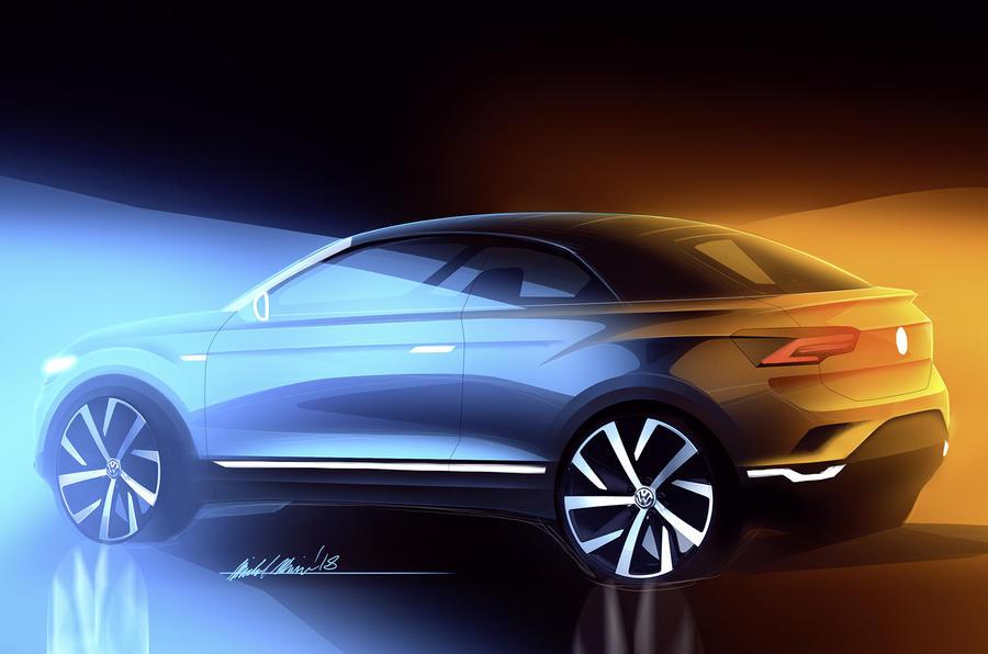 Volkswagen готовит внедорожный кабриолет по цене Tiguan
