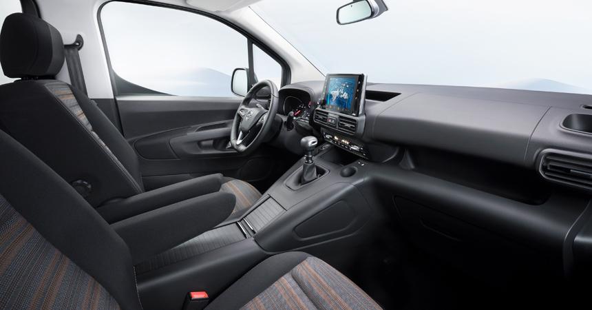 Официальные фото и характеристики нового Opel Combo 2018