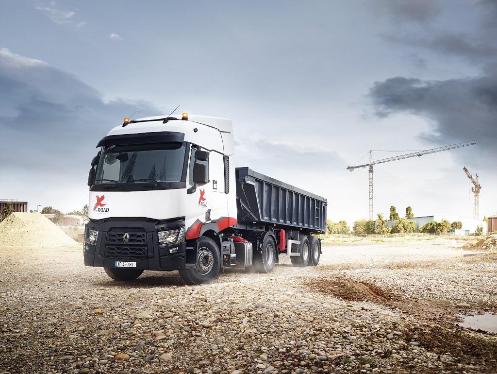 Renault Trucks анонсирует грузовик для строительства T X-Road