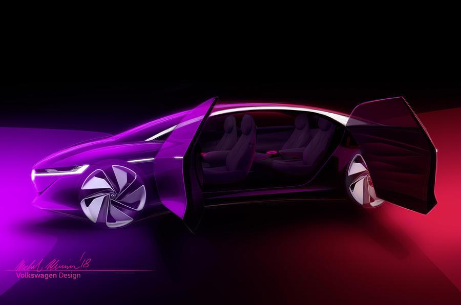 Volkswagen покажет в Женеве беспилотного преемника Phaeton