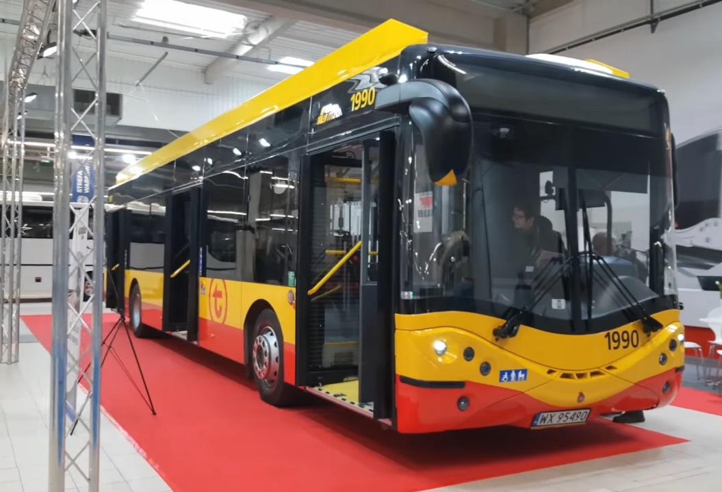 Польский электробус Ursus на топливных элементах