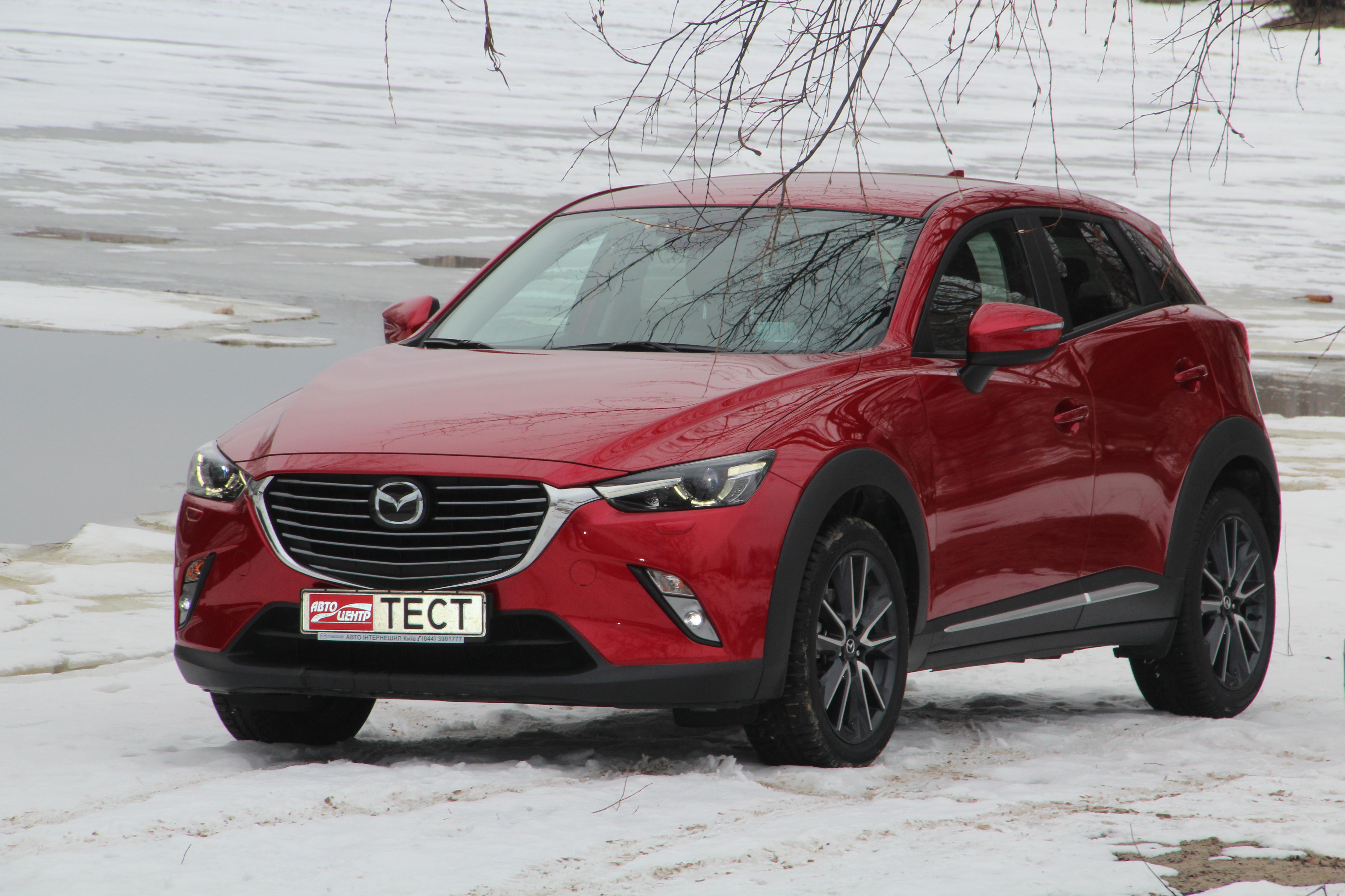 Как выглядит Mazda CX-3