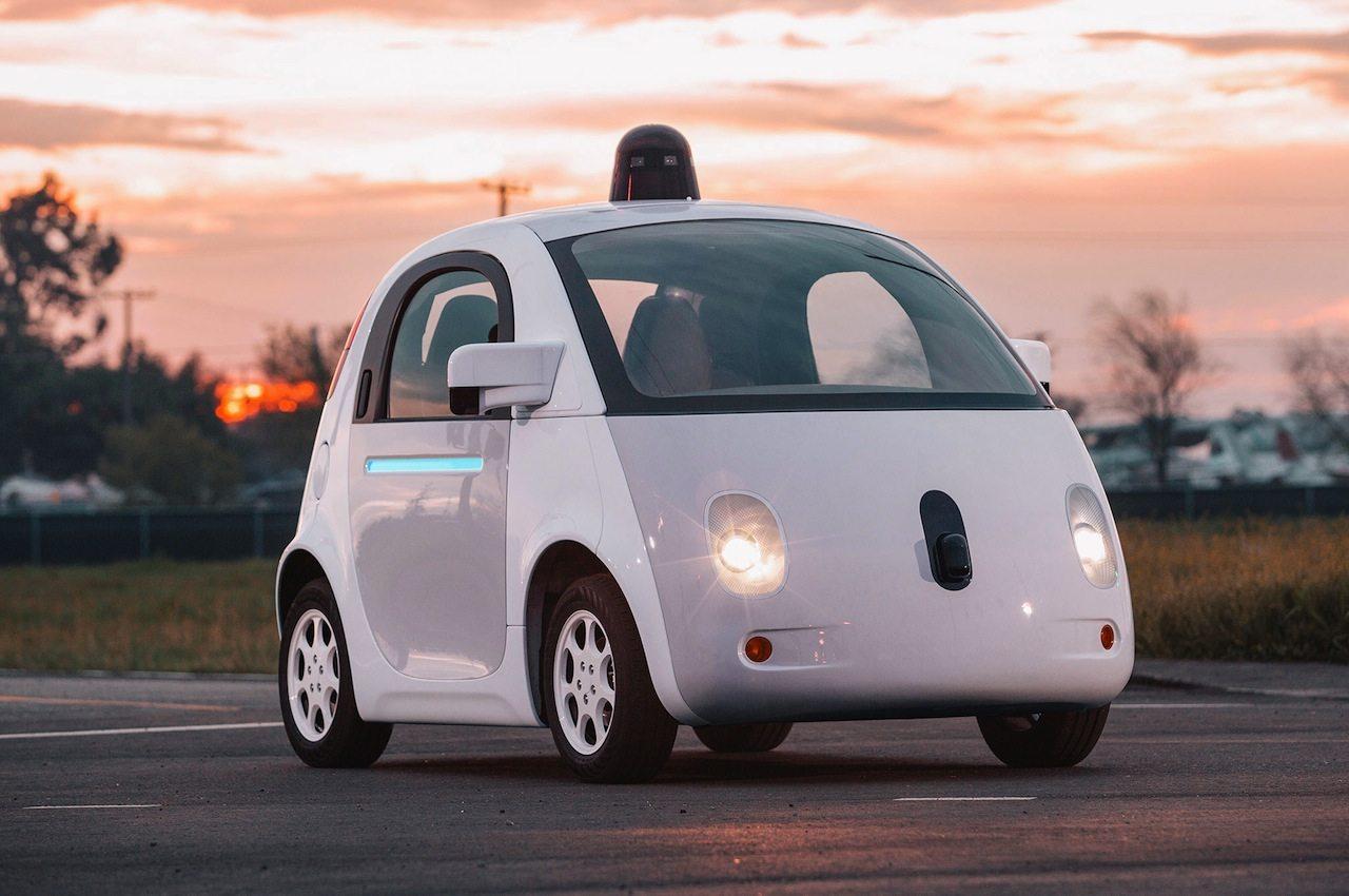 автомобильный лидар на беспилотнике Waymo от Google