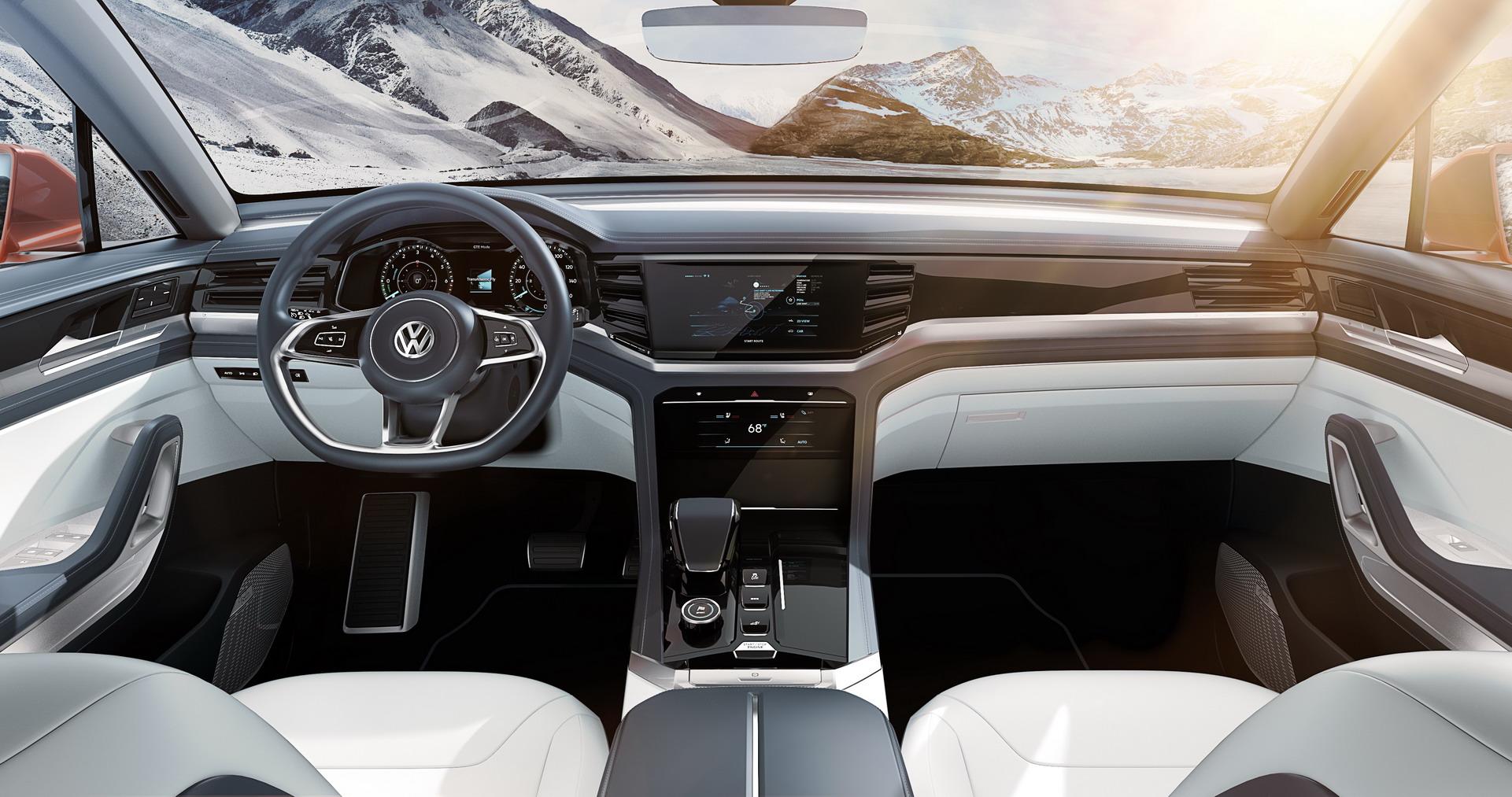 салон Volkswagen Atlas Cross Sport