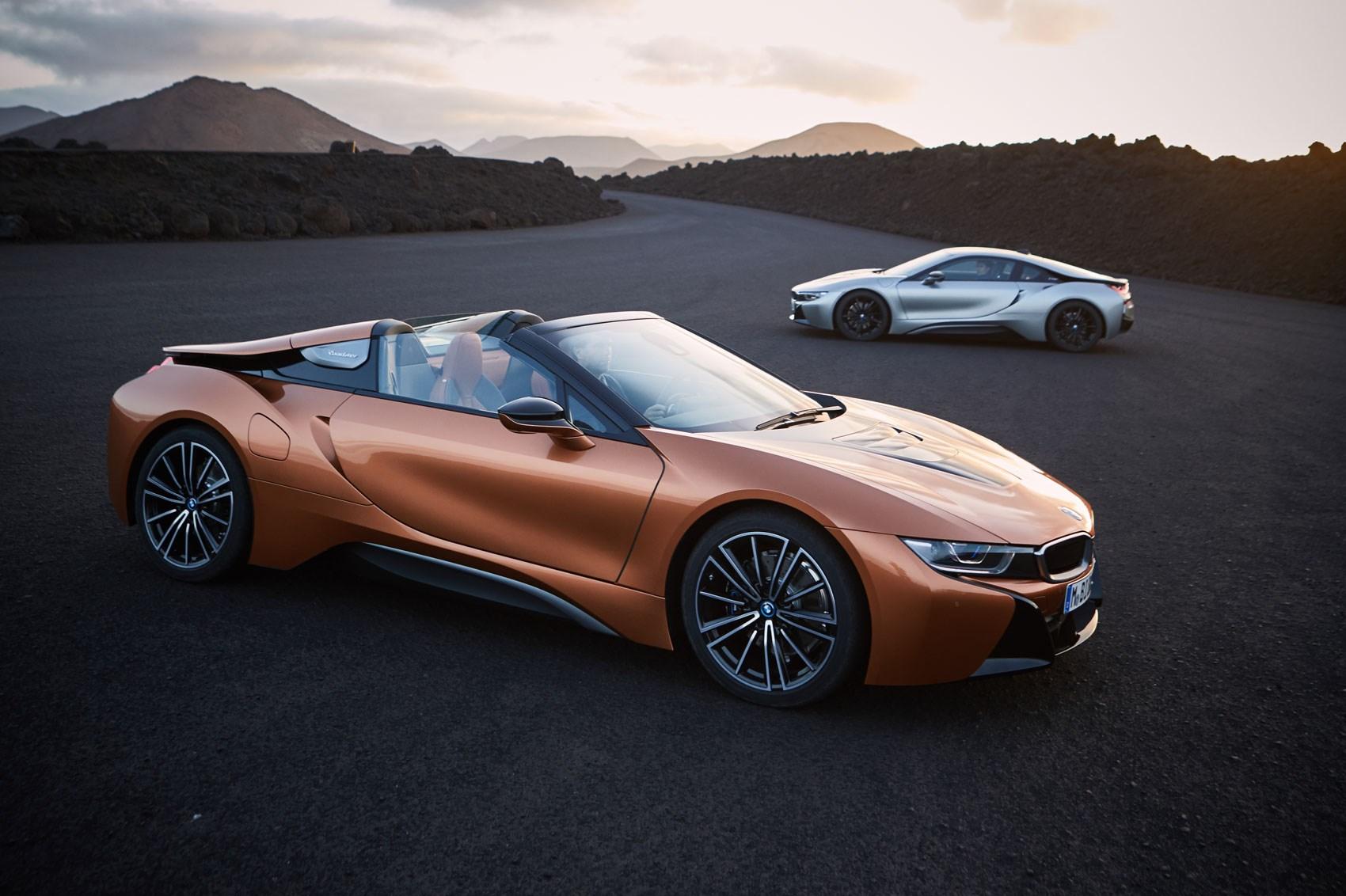 Электрокар BMW i8 Roadster