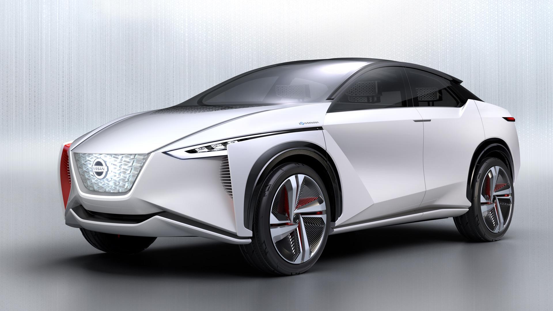 электрический концепт кроссовера Nissan IMx