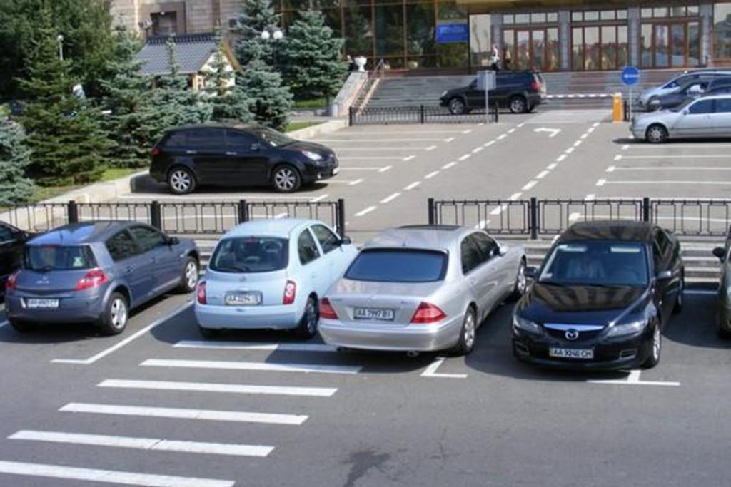 нарушения правил парковки