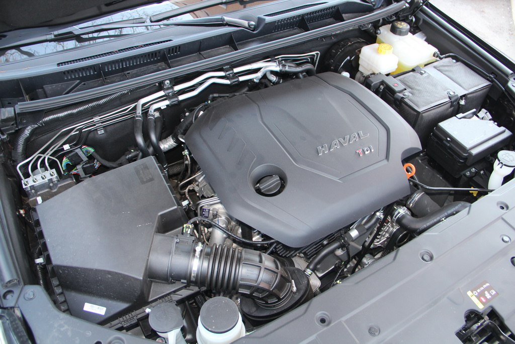 Мотор Haval H9