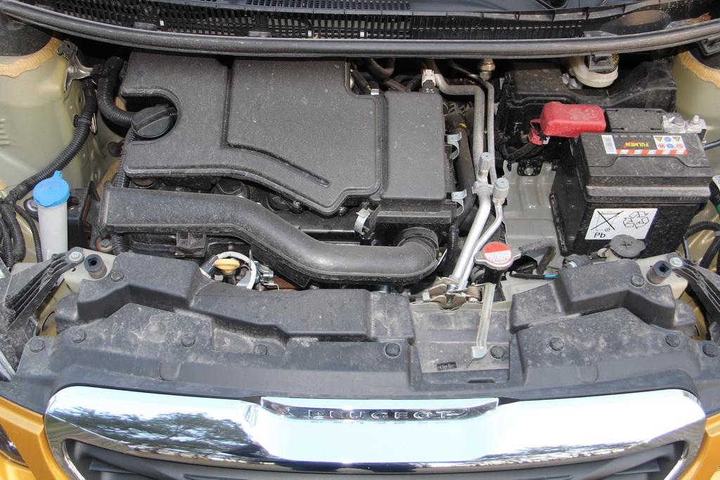 Двигатель нового Peugeot 108